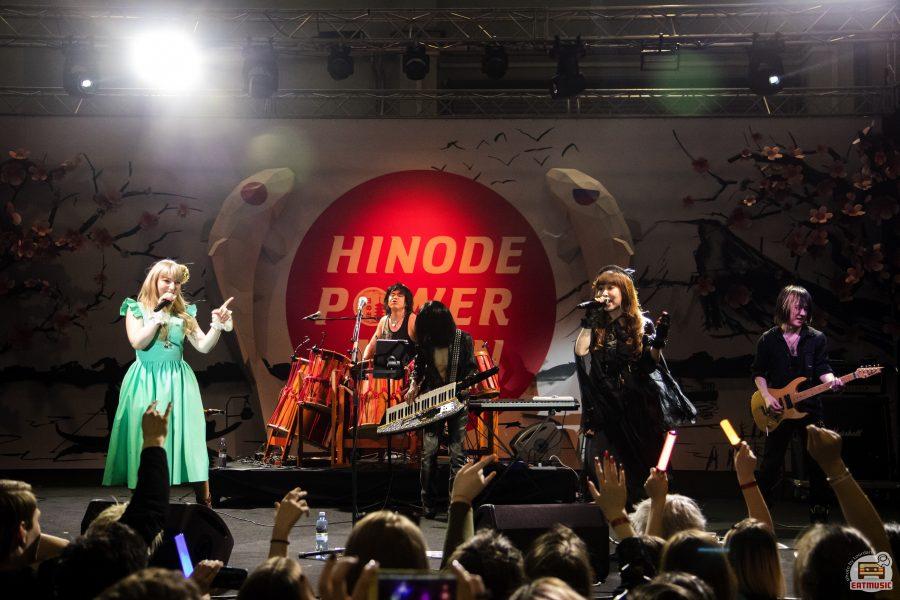 Музыкальная программа Hinode Power Japan 2018: репортаж, фото Роман Воронин / Yasuharu Takanashi & YAIBA