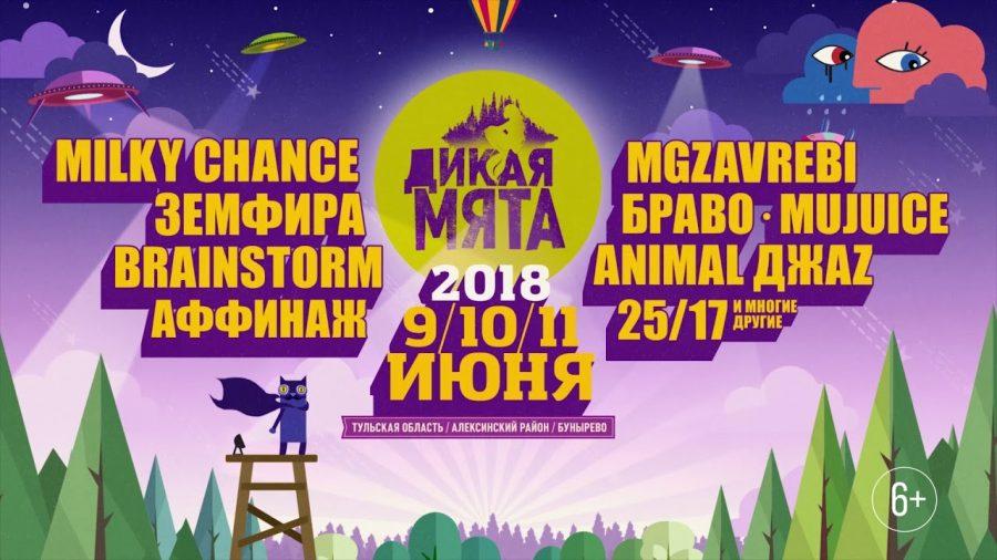 Фестиваль Дикая Мята 2018