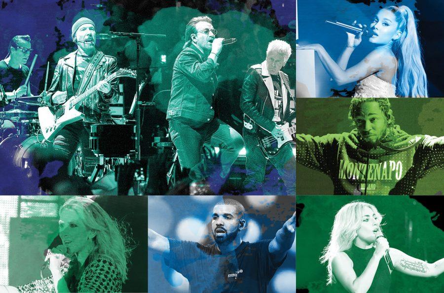 Billboard представил список самых высокооплачиваемых музыкантов (Top 50 Money Makers). По итогам 2017 года рейтинг возглавили ирландцы U2.