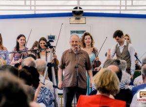 Концерт камерного оркестра KREMLIN (корабль Ривьера, 29/07/2018): репортаж, фото Елена Белкина