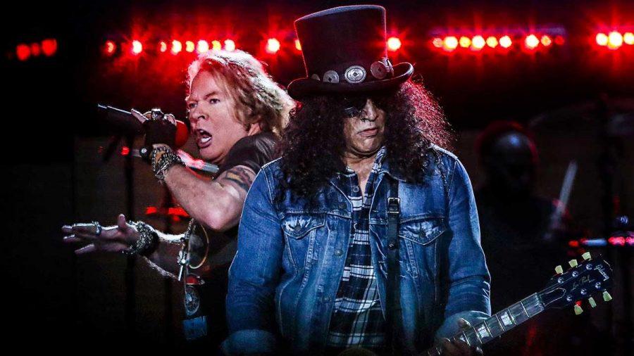 Новый альбом Guns N' Roses находится в процессе написания