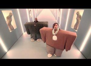 Клип Kanye West & Lil Pump - I Love It (ft. Adele Givens)