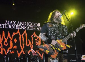 Концерт Max & Iggor Cavalera в Санкт-Петербурге (04-10-2018 AURORA): репортаж, фото Екатерина Романова