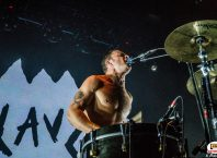Концерт Slaves в ГЛАВCLUB Green Concert: репортаж, фото Анна Новак