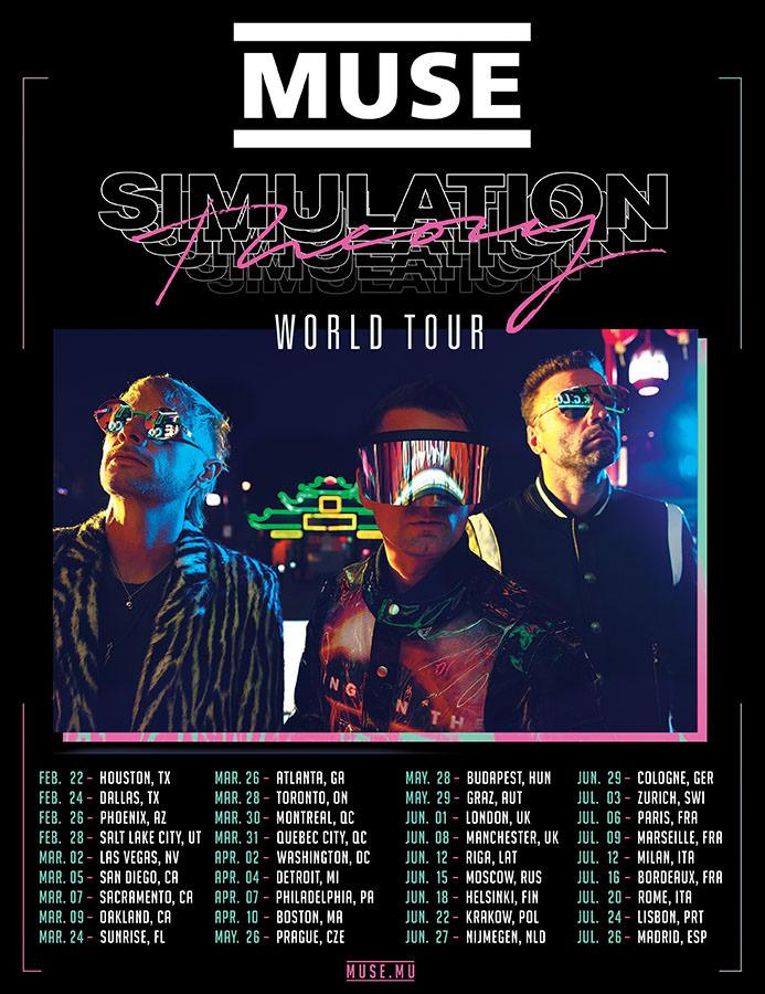 Концерт группы Muse в Москве состоится в июне 2019 года