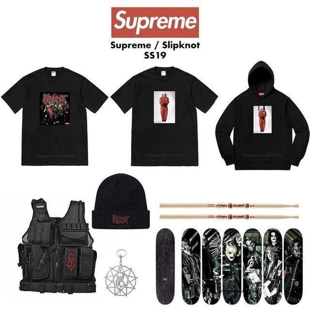 Коллекция Supreme x Slipknot
