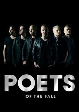 Концерт Poets of The Fall 22 февраля