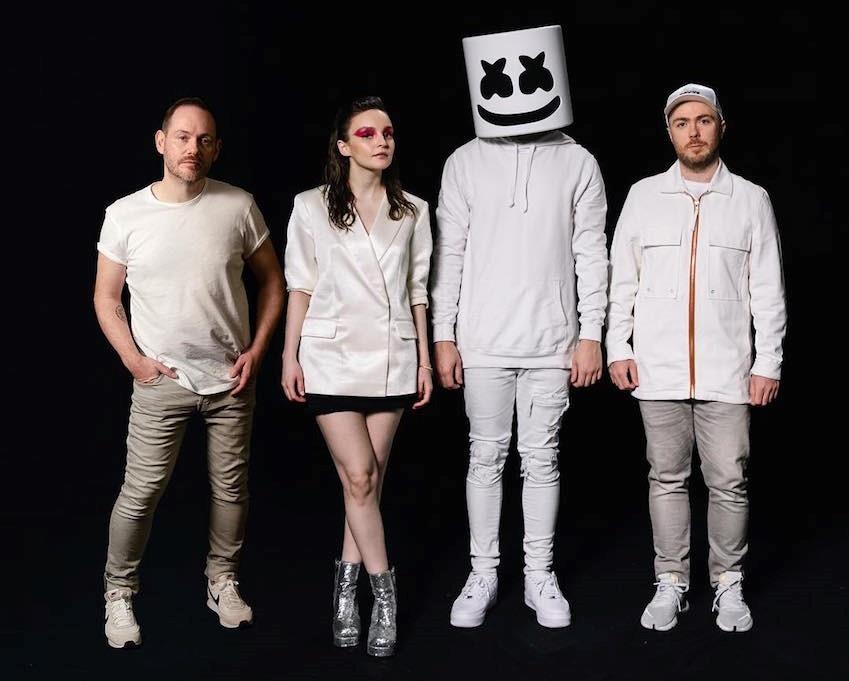 Слушать сингл Marshmello - Here With Me Feat. CHVRCHES: рецензия