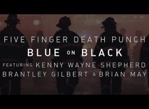 Клип Five Finger Death Punch - Blue On Black