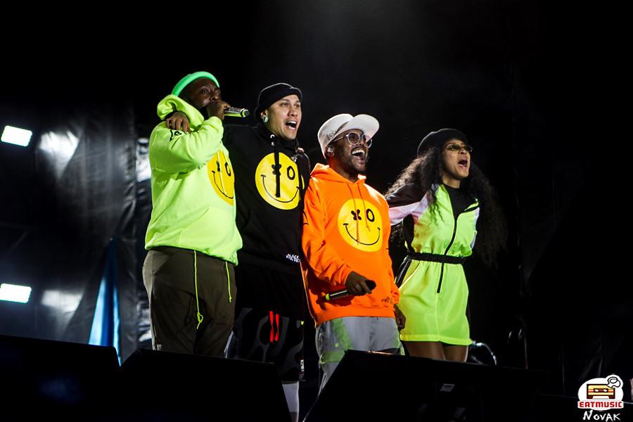 Black Eyed Peas на «Усадьбе Джаз»