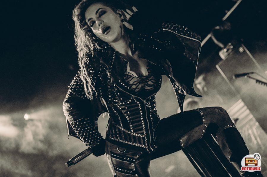 Концерт Arch Enemy в Aurora Concert Hall репортаж фото