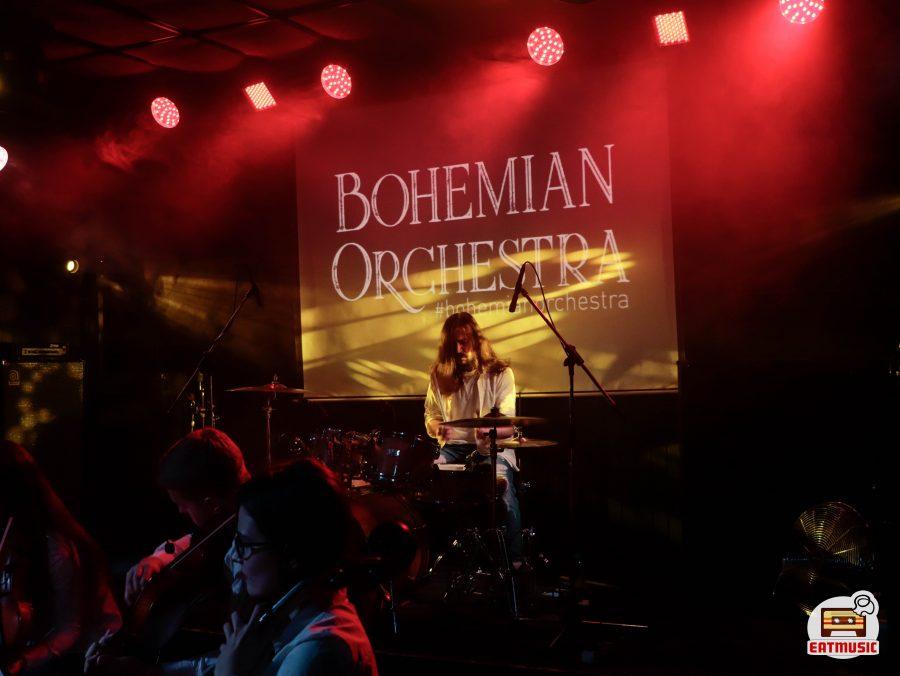 Концерт струнного оркестра Bohemian Orchestra в клубе MOD: репортаж, фото