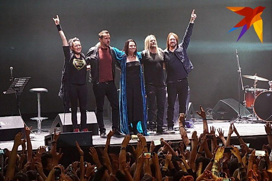 Концерт Evanescence в Воронеже стал уникальным