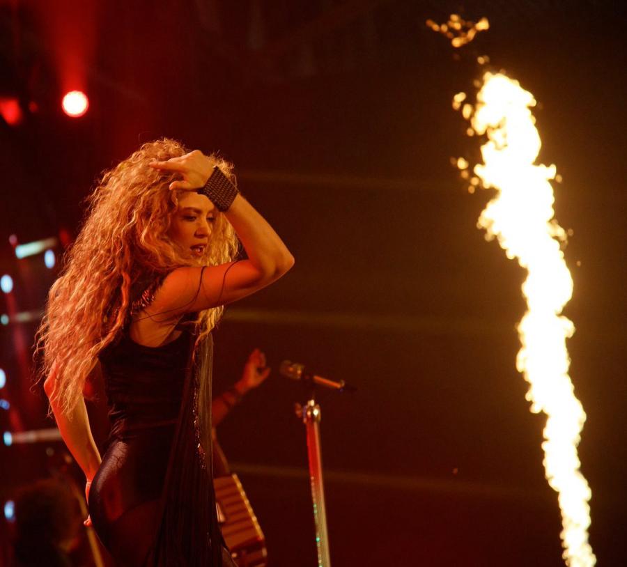 Документальный фильм Shakira In Concert: El Dorado World Tour