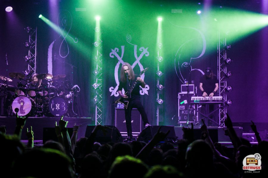 Концерт Children of Bodom в Петербурге 18.10.19: репортаж, фото