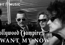 Новый клип Hollywood Vampires - I Want My Now и тур по Европе