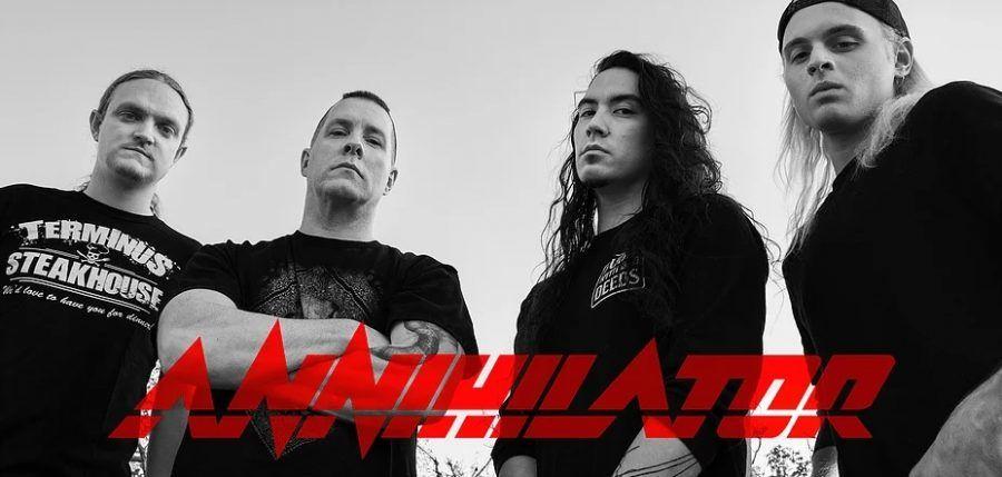 Новый клип, тур и распродажа гитар Annihilator