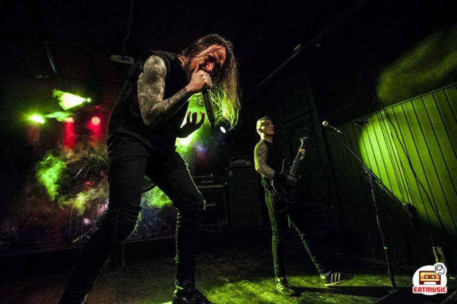 Концерт британской метал-группы INGESTED в клубе MOD 27.01.20: репортаж, фото