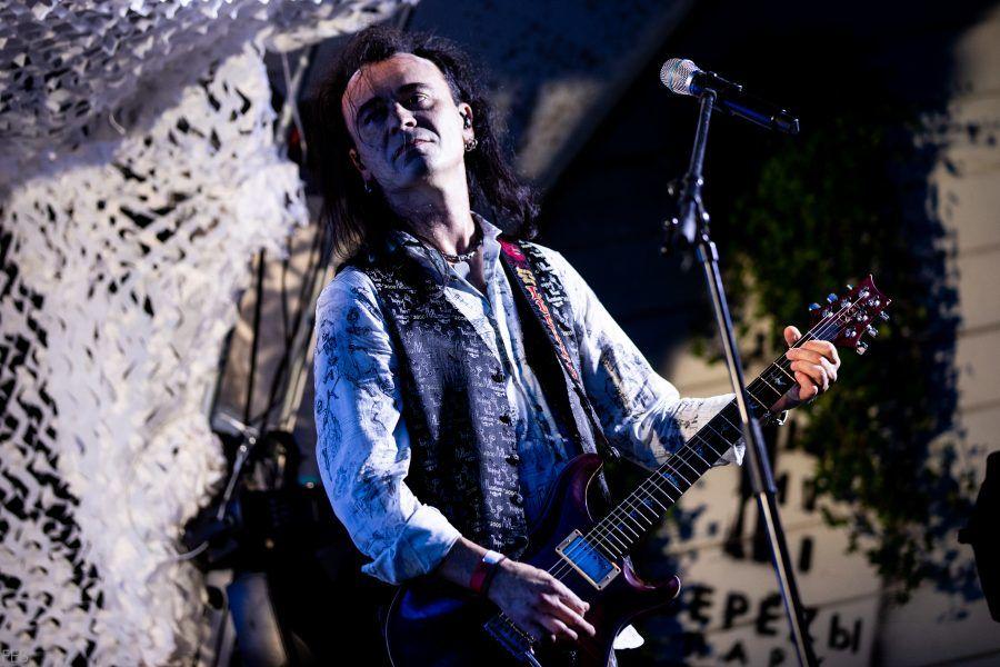 Глеб Самойлов отметил 50 лет на концерте в московском парке «Березы»