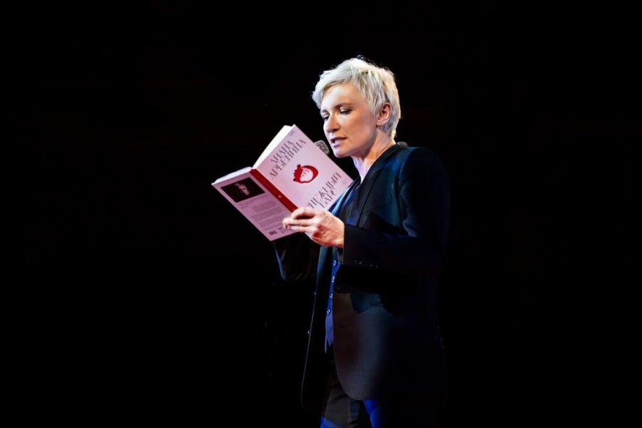 Диана Арбенина представила книгу «Снежный барс»