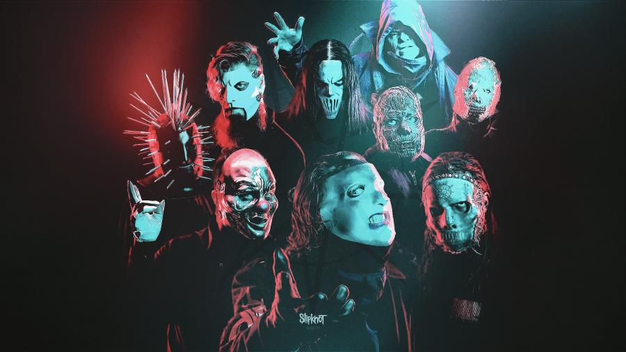 Фирменный пазл Slipknot