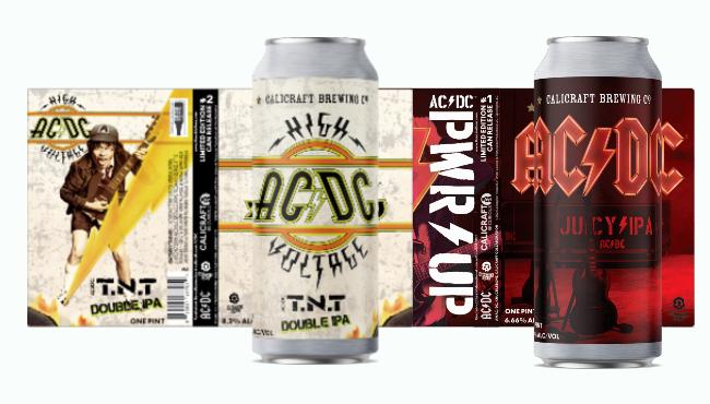 Новое крафтовое пиво от AC/DC