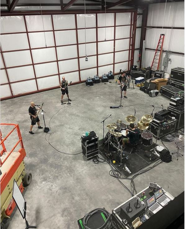 Новая репетиционна база группы Trivium